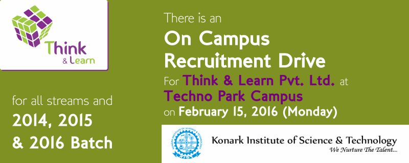 Campus Drive_think & learn-company-placement